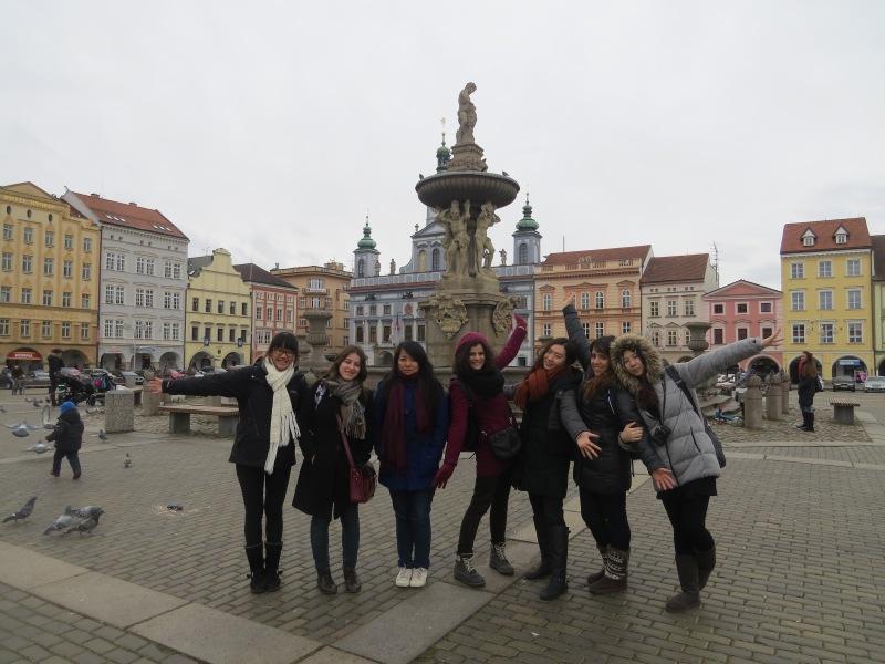 Nós em Cesky Budejovice