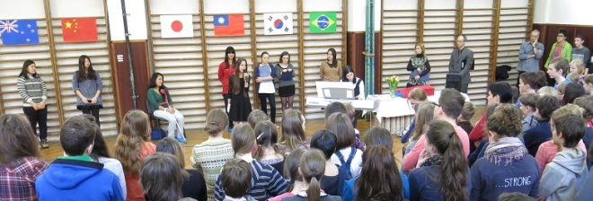 Cerimônia de abertura