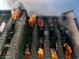 Incêndio da biblioteca nacional