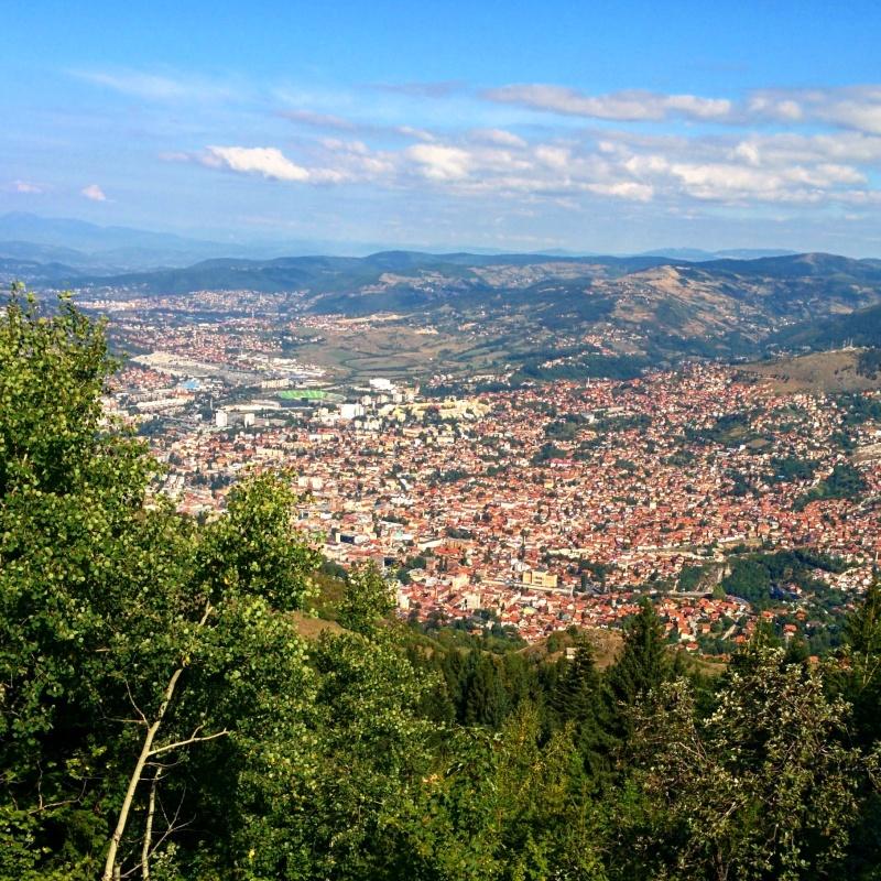 Sarajevo nas mãos dos seus atacantes