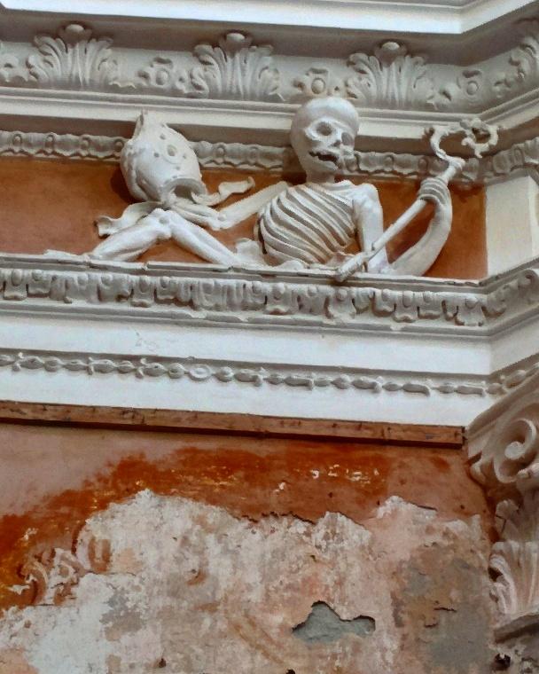 Interior do Oratorio di Santa Maria di Porto Salvo