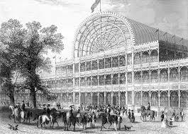 O Palácio de Cristal em Londres
