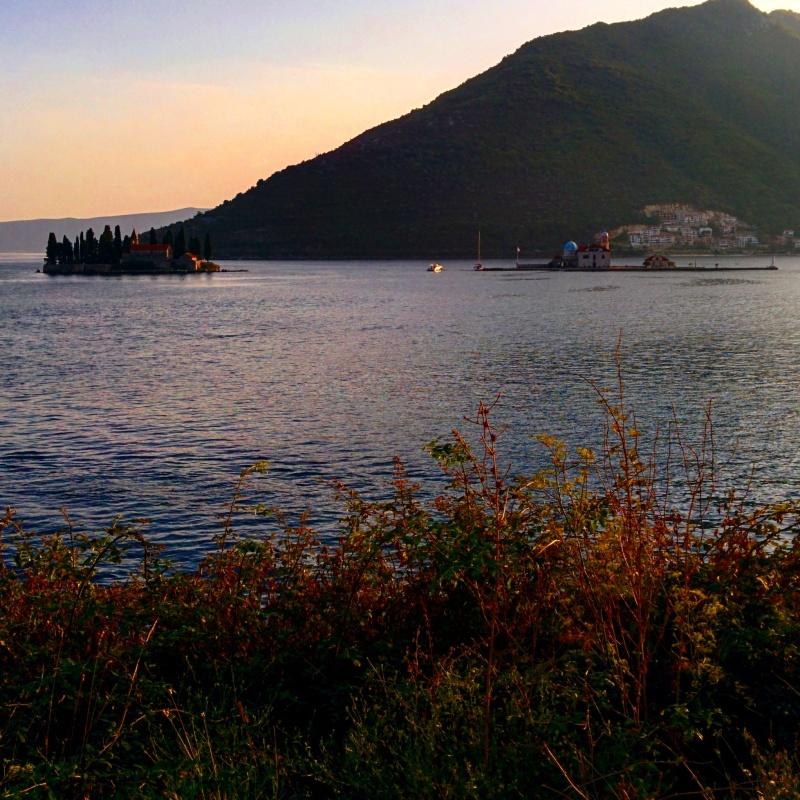 ilha igreja Montenegro Croácia viagem
