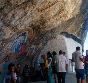 Ostrog monastério pedra