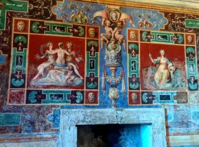 Villa d'Este Tivoli interior