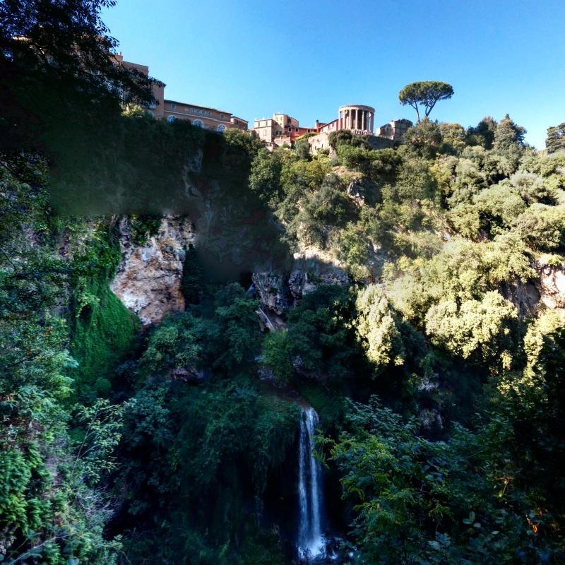 Villa Gregoriana cachoeira 2
