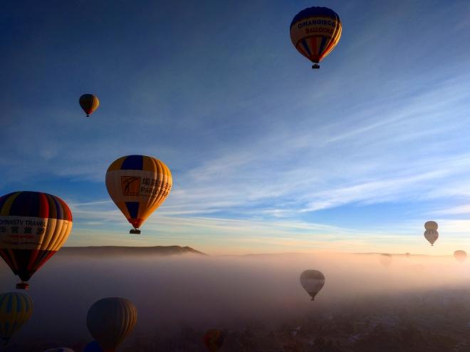 Balão capadócia amanhecer 2