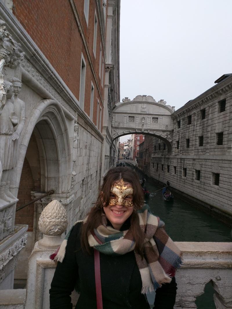 carnaval de veneza máscara ponte dos suspiros