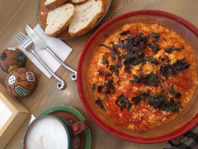 pratos típicos provar Turquia menemen