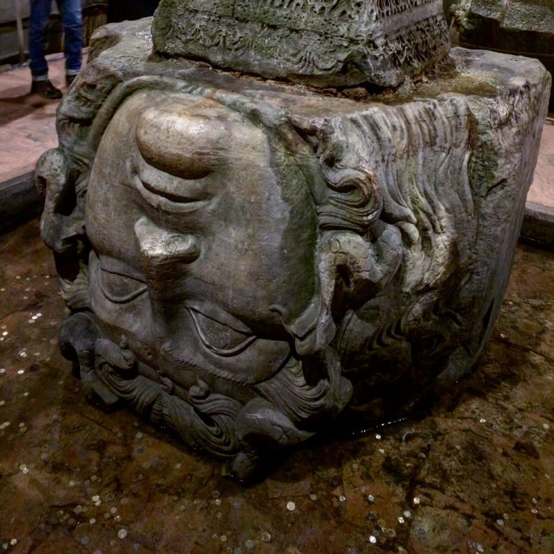 Cisterna da Basilica istambul 4