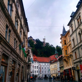 Old Town e Castelo de Ljubljana