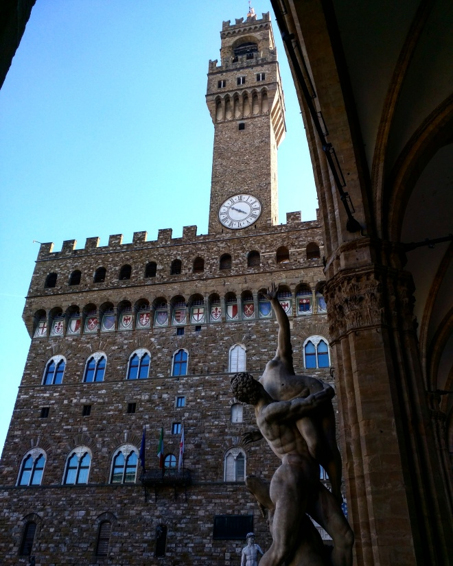 palazzo della signoria estátua