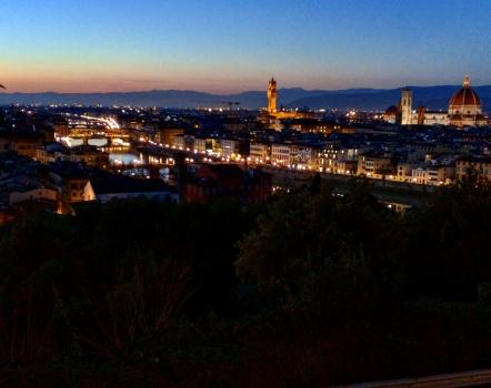 Piazzale Michelangelo noite
