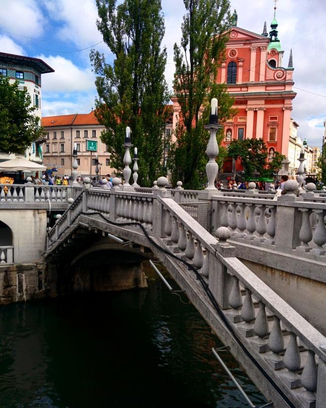 Ponte tripla Ljubljana