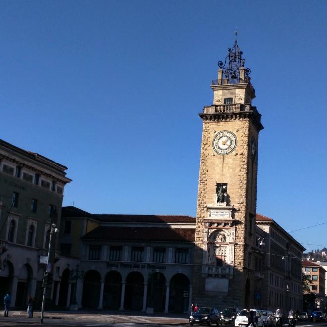 Relógio cidade baixa Bergamo