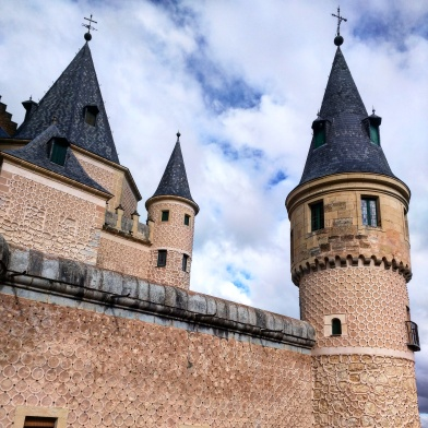 Alcazar de Segóvia Castelo Bela Adormecida 13