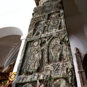 Coluna visigoda Iglesia del salvador