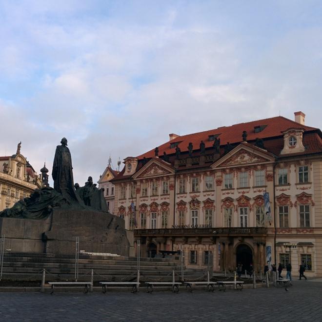 Estátua de Jan Hus