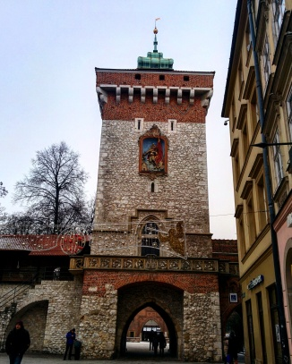 Florian Gate Cracóvia