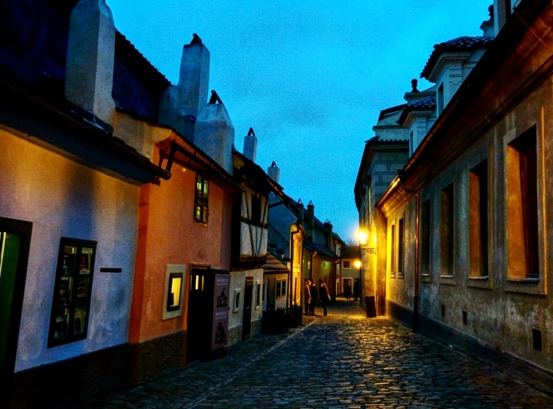 Golden lane Castelo de Praga