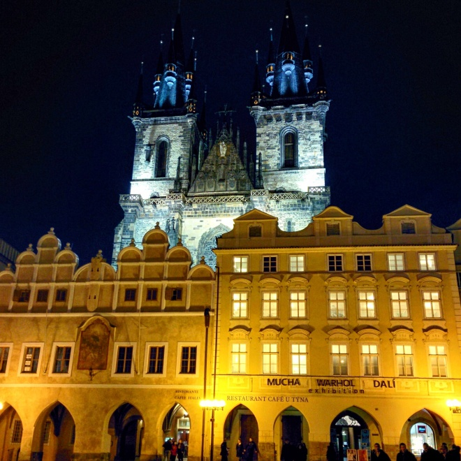 Nossa senhora antes de Tyn Praga