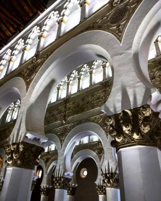 Sinagoga la blanca Toledo 2