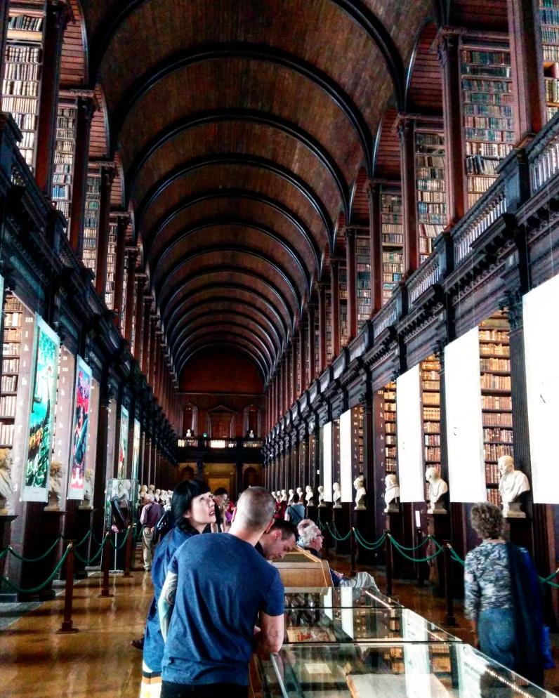 Trinity College biblioteca dublin 2