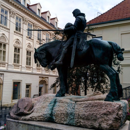 Estátua de São Jorge Zagreb