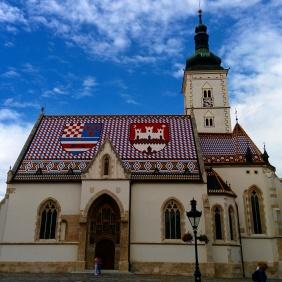 Igreja de são Marcos Zagreb