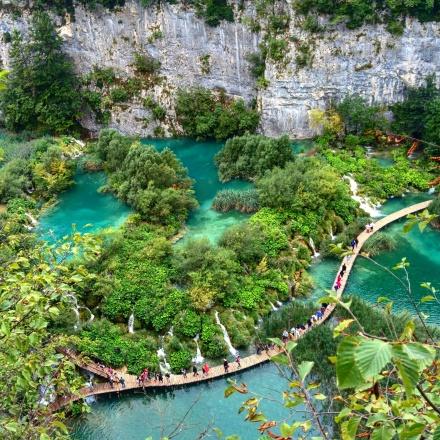 Plitvice Croácia parque cachoeiras 24