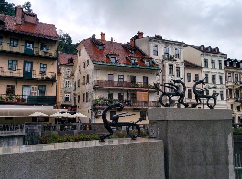 Ponte dos dragões Ljubljana