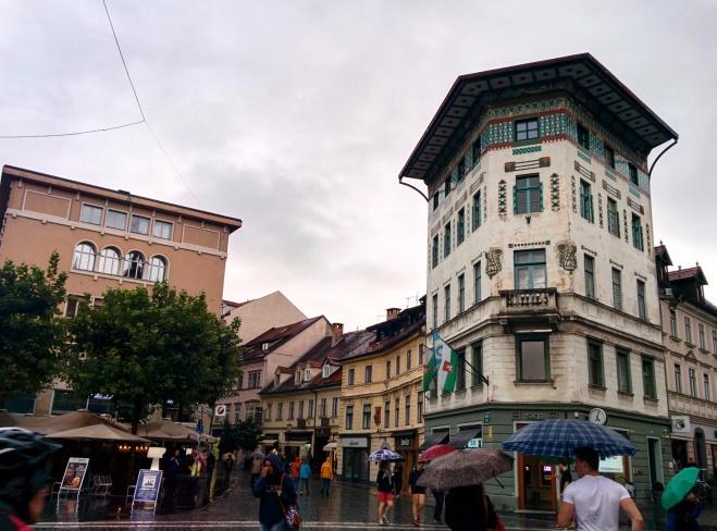 Praça Preseren Ljubljana