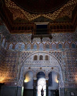 Alcazar Sevilha palácio 11