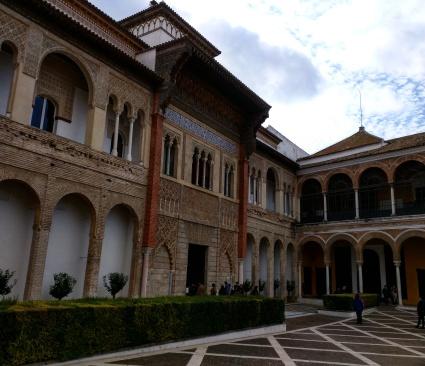 Alcazar Sevilha palácio 4