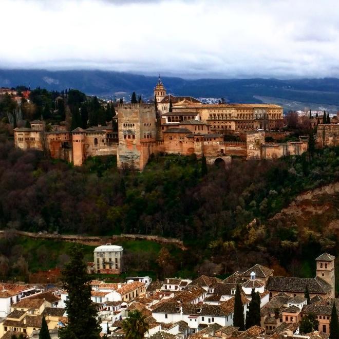 Alhambra Mirador de San Nicolas Granada 2