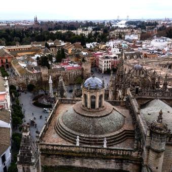 Catedral de Sevilha vista do alto 2