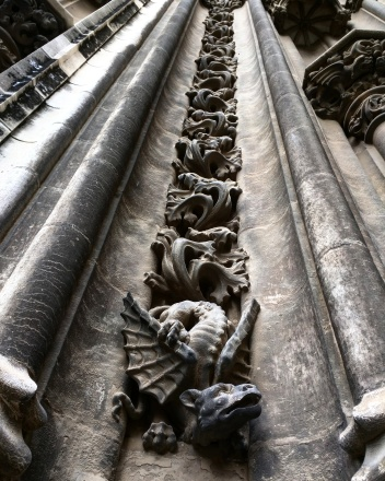 Catedral Sevilha detalhe da fachada