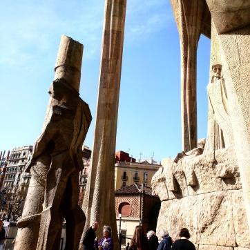 Colunas Externas Sagrada Familia Barcelona 2