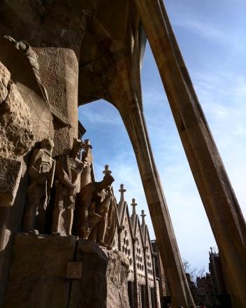 Colunas Externas Sagrada Familia Barcelona