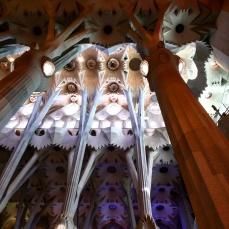 Colunas Sagrada Familia Barcelona 2