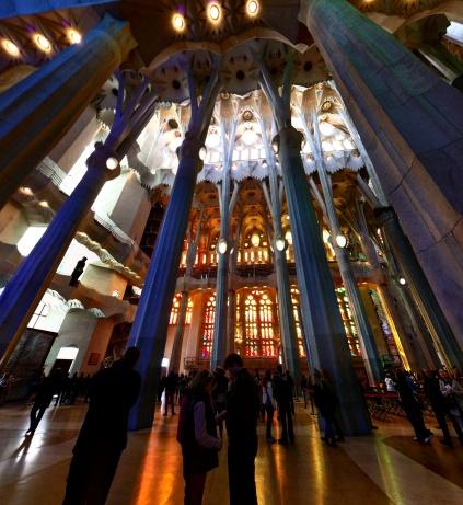 Colunas Sagrada Familia Barcelona 3