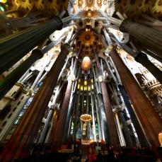 Colunas Sagrada Familia Barcelona 4