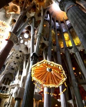 Colunas Sagrada Familia Barcelona 5