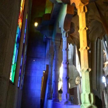 Colunas Sagrada Familia Barcelona