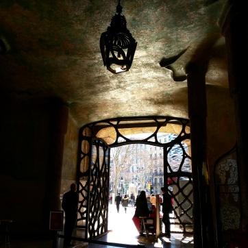 Entrada Casa Mila Barcelona