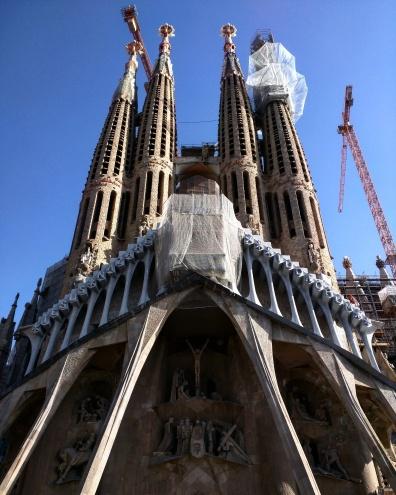 Fachada Sagrada Familia Barcelona
