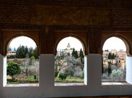 Generalife vista 2 Alhambra Granada