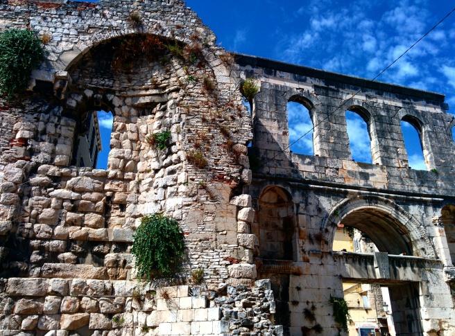 Muralha palácio Diocleciano Split