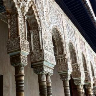 Páto dos leões 5 Alhambra Granada
