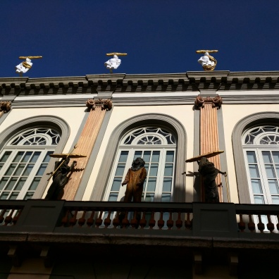 Teatro Museu Dalí fachada